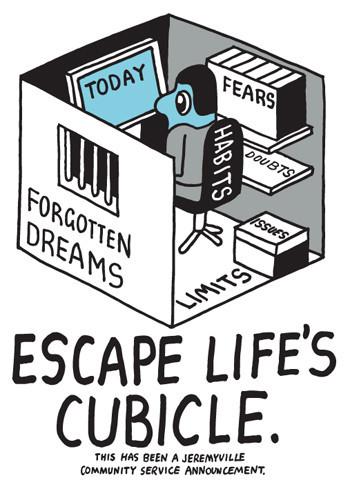 EscapeLifesCubicle_1024x1024